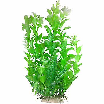 5-6'' Useful 14-17cm Plastic Aquarium Plants All Realistic Great Designs And Colours Diversified In Packaging