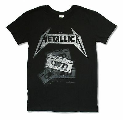 METALLICA NO LIFE TIL LEATHER BLACK T-SHIRT NEW OFFICIAL ADULT