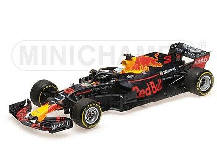Minichamps 1 43 410 180003 rojo Bull RB14 F.1 TAG Daniel Ricciardo NEW