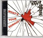 (EX751) Test Icicles, What's Your Damage? - 2006 DJ CD