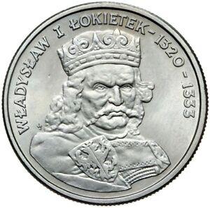 Gedenkmuenze-Polen-100-Zlotych-1986-WLADYSLAW-I-LOKIETEK-Stempelglanz-UNC