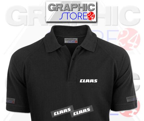 2x Claas hierro en la ropa Calcomanías