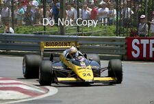 Alessandro Nannini Minardi M187 Detroit Grand Prix 1987 Photograph