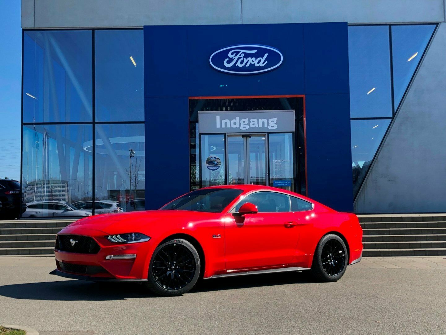 Ford Mustang 5,0 V8 GT Fastback aut.