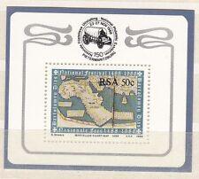 Sud Africa South Africa 1988 Bf 20 A beneficio Fondazione filatelica MNH