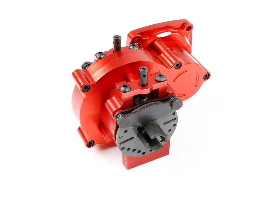 CNC tuttioy Middle diff gear  set rosso for 1 5 losi 5ive-T rc auto parts  vendita all'ingrosso