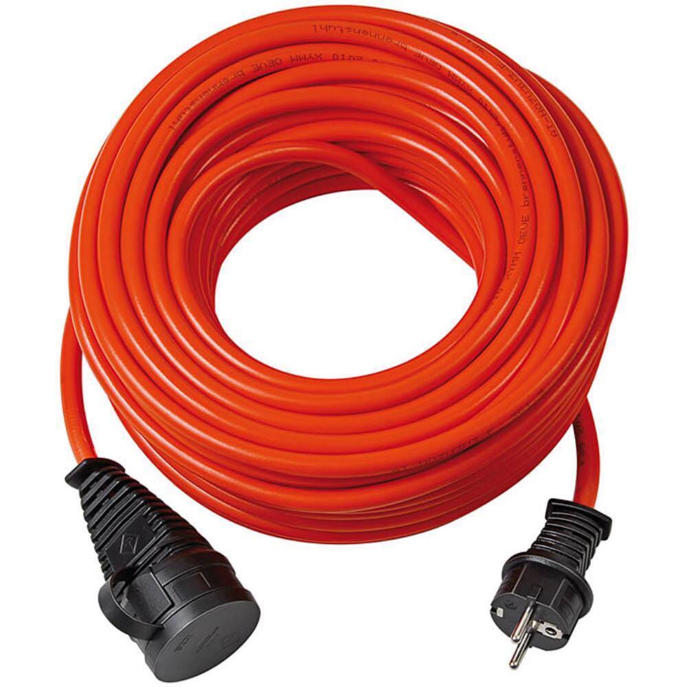 Brennenstuhl Bremaxx Verlängerungskabel IP44 25m Orange AT-N07V