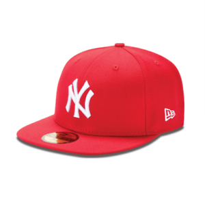 d91f63652 Details about New Era 59FIFTY NY NEW YORK YANKEES - Red White Cap MLB  Baseball Fitted Hat
