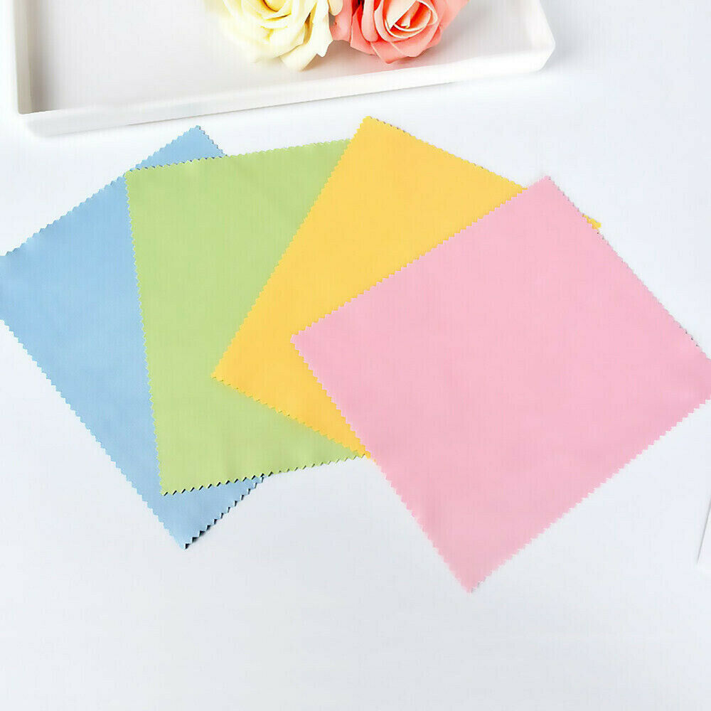 10pcs Microfiber Cleaner Cleaning Cloth For Phone Screen Camera Lens Glasses