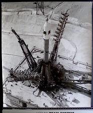 Photo URSS - Baikonour - Soyouz - Tirage argentique d'époque - 1968 - 50 x 60 -