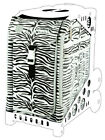 ZUCA Sports Insert Bag - ZEBRA - No Frame