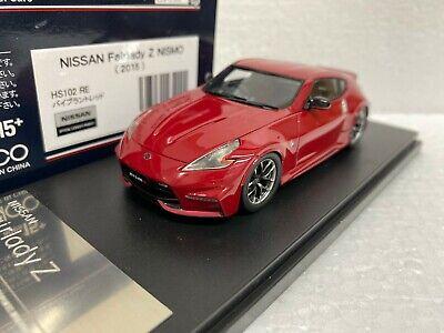 Kyosho 1//43 Nissan Fairlady Z 370Z Z34 Nismo Die-Cast Model Car Silver