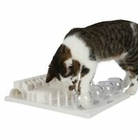 Cat Pet Supplies 5 In 1 Activity Center Bowl Peg Tunnel Fun Play Game Treat Toy