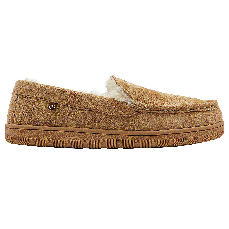 Lamo Men's Harrison Moc Slippers (EM1913) Chestnut US Sizes