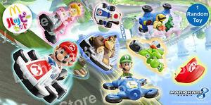 Details About New Mario Kart 8 Mcdonalds Princess Peach Luigi Browser Donkey Kong Racing 1 Toy