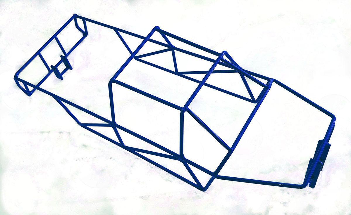 TRAXXAS-Maxx 4908 4907 Brillo T Azul Jaula Antivuelco Completo R C Raven Nuevo en paquete