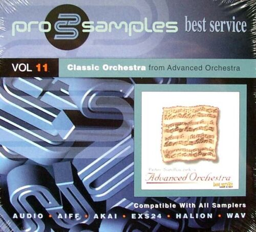 Best Service pro samples Vol.11 2 CD Classic Orchestra from Advanced Orchestra