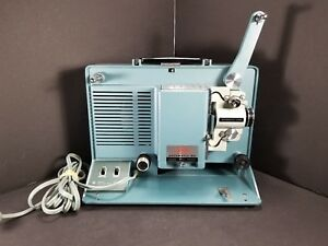 Vintage-Aimcee-Argus-Automatic-VII-500-Autoload-Portable-8mm-Movie-Projector