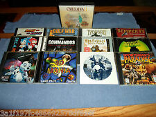 LOT OF PC GAMES / 25 COMPUTER GAMES (EXCELLENT CONDITION)