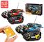 Bausteine-Verfolgen-Racing-Fernbedienung-Spielzeug-Geschenk-Modell-Kind Indexbild 1