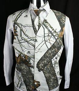 Image Is Loading Men 039 S Mossy Oak White Camo Tuxedo