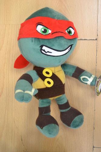 "Mutant Ninja Turtles Raphael Michelangelo Or Leonardo Nickelodeon Soft Toys 12/"""
