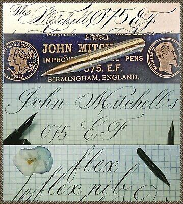 12 vintage William Mitchell/'s no.111 EF SKOLEPEN