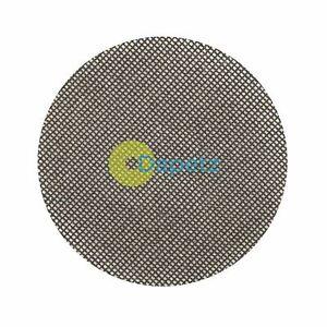 Crochet-amp-Boucle-Maille-Abrasive-Disc-125-mm-10Pk-grain-40-lavable-pour-reutilisation