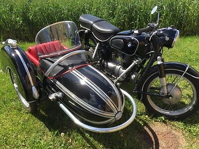motorcykel med sidevogn