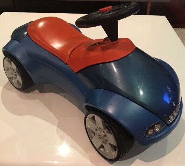 Scoot along Ride On Kids Racer Car in Silver
