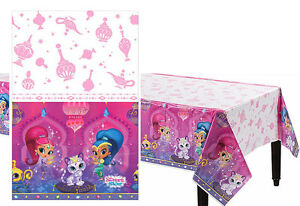 Image Is Loading Shimmer And Shine Plastic Table Cover Birthday Decorations
