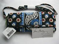 Vera Bradley Night Owl Sleek Wallet Crossbody Coin Checkbook Purse For Tote