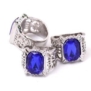 Black-Butler-Ciel-Phantomhive-Cosplay-Family-Sapphire-Ring-Kuroshitsuji-Blue-Gem