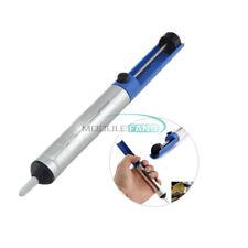 Aluminum Solder Desoldering Pump Remover Gun Sucker Suction Tin Bar Tool Blue