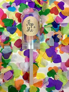 Confetti-Push-Pop-Biodegradable-Hearts-Rainbow-Wedding-Flutter