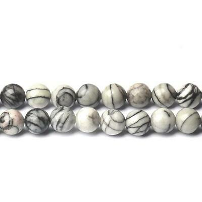 Pcs Dyed  Gemstones Jewellery Making Impression Jasper Round Beads 6mm Green 60