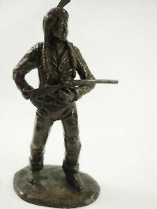 """Don Staats""""Chief Joseph"""" Bronze sculpture Limited Edition #15/30 1998"""