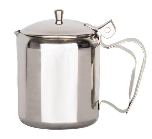 Beeketal Edelstahl Gastro Milchkanne Milchkännchen Milchgießer Sahnekännchen