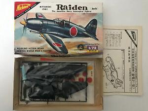 Nichimo 1/72 Mitsubishi J2M3 Raiden jack Japanese Navy Intercepted Fighter  (D)