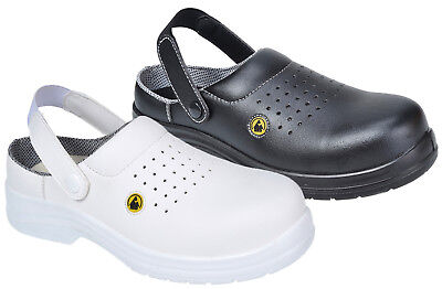 Compositelite ESD Perforated Work Safety Clog SB AE Portwest