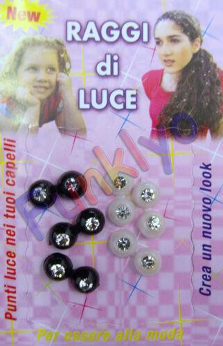 Raggi Di Luce Perla Perlina Acconciatura Look Capelli Sposa Damigella Donna FB12