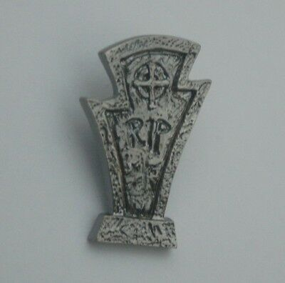 Rip Grabstein Gothic Pin Button Badge Anstecker # 88