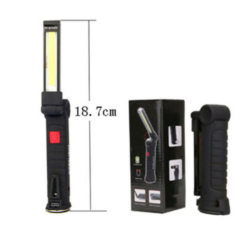 COB LED Work Light Mechanic Work Shop Inspection Lamp Hand Torch Rechargeable UK