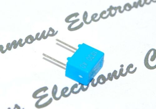 0.22nF n22 ERO 4pcs Roederstein MKP1830 220P 100V 1/% pitch:5mm Capacitor