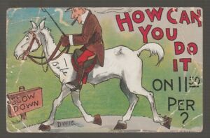 41555-1910-POSTCARD-ARTIST-SIGNED-DWIGGINS-034-HOW-CAN-YOU-DO-IT-ON-11-50-PER-034