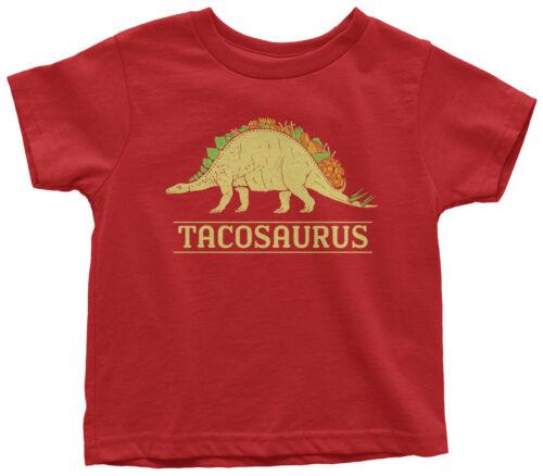 Tacosaurus Dinosaur Taco Toddler T-Shirt Fun Birthday Gift Idea