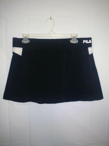Fila Sport Black Golf Tennis Skort Skirt Size L La