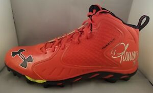 8fc318a50d534 Details about Demaryius Thomas Autographed Signed Under Armour Cleat Denver  Broncos JSA