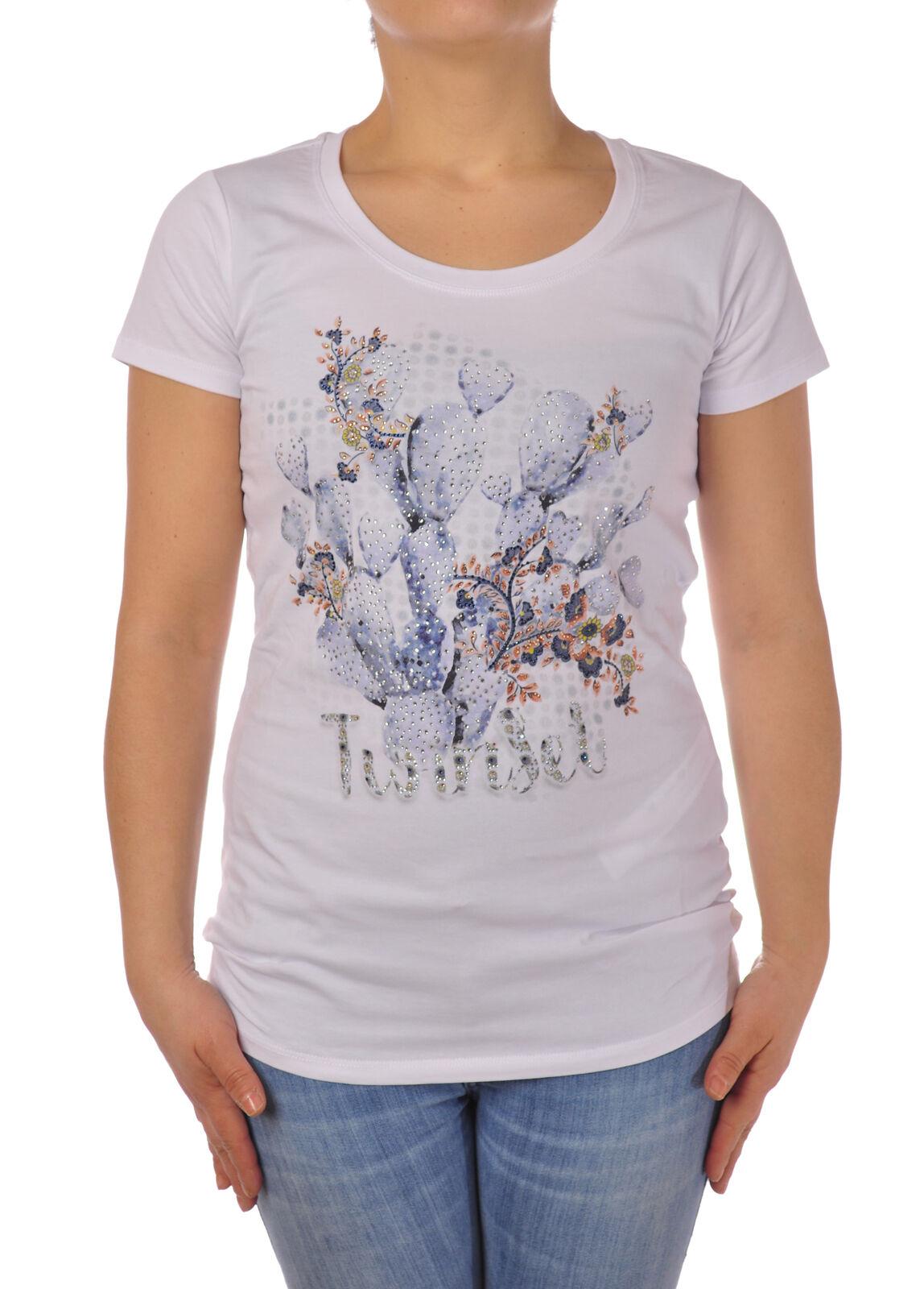 Twin Set - Topwear-T-shirts - Woman - Weiß - 5079202F184406