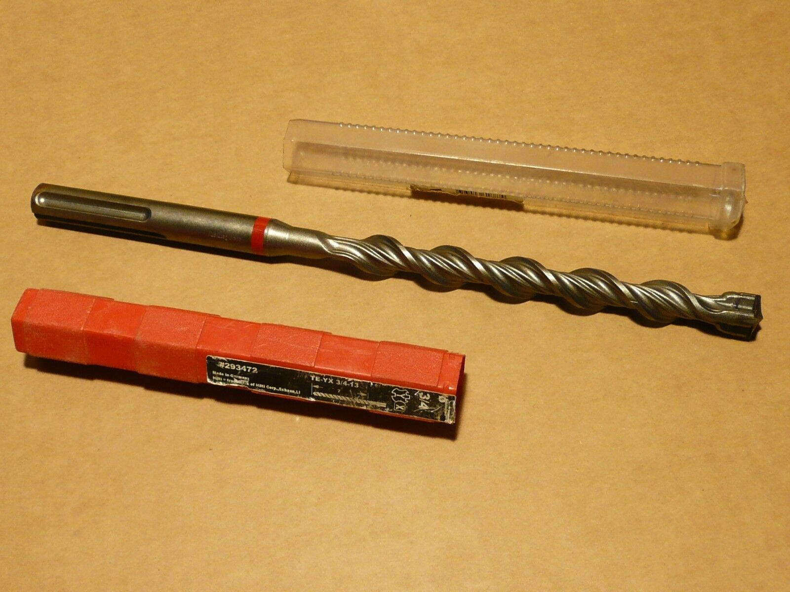 Hilti TE-YX Hammer Drill Bit with SDS-Max Shank - 3 4  x 13  - 293472